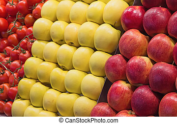 Fruits on the market