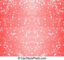 Red abstract paper design in scrapbooking style for greeting card