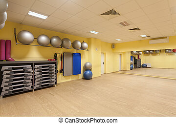 Fitness equipment - New equipment using in fitness, modern...
