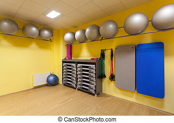 Fitness gym - Gym with special equipment use in fitness