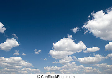 Background with blue sky and clouds 5