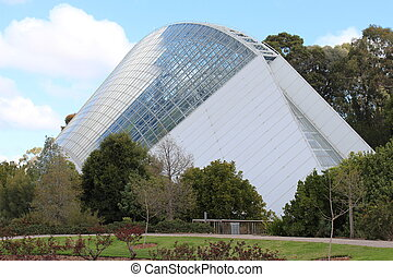 Bicentennial Conservatory, Adelaide - A beautiful green...
