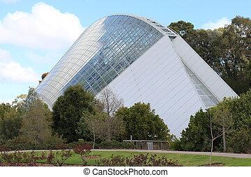 Bicentennial Conservatory, Adelaide - A beautiful green...
