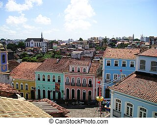 Pelourinho, Salvador, Brazil - Pelourinho region in Salvador...