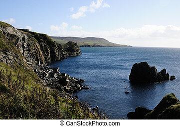 Lerwick coast line