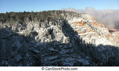 Grand Canyon Winter - A wintry landscape in the grand canyon