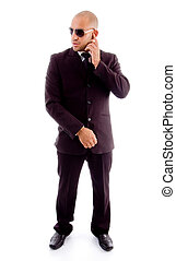 businessman in standing pose