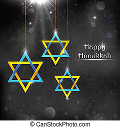Happy Hanukkah - illustration of Happy Hanukkah background...