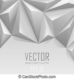 Plano de fondo, Extracto, triángulo, polígono,...