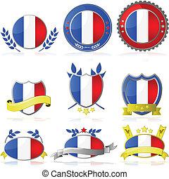 France badges