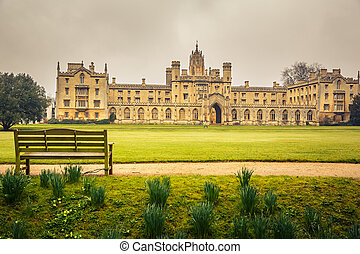 St Johns College, Cambridge - St Johns College in Cambridge...
