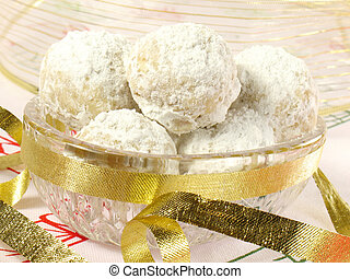 Christmas Tea Cookies - A Christmas delight… sweet, round...