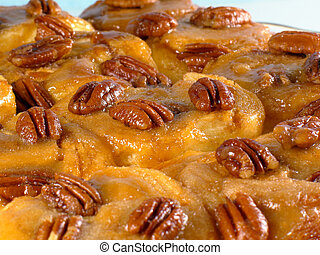 Fresh Sticky Buns - Who can resist these sweet, warm, pecan...
