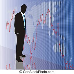 Trader 3 - World stock market, exchange business, DAX, Dow...