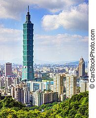 Taipei 101 - TAIPEI, TAIWAN - JANUARY 14: Taipei 101...
