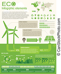 ECO Infographic elements. Opportunity to Highlight any...