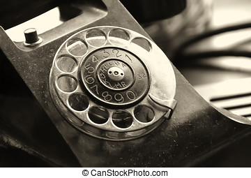 an old historic Phone