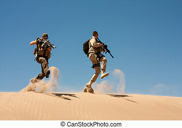 Special Ops in the desert