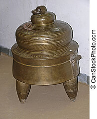 Antique, old Water heater, India