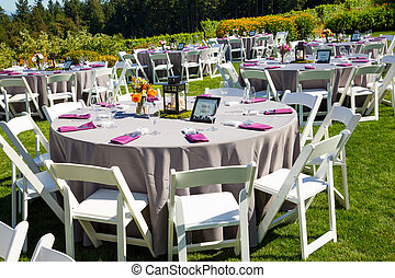 Wedding Reception Table Details