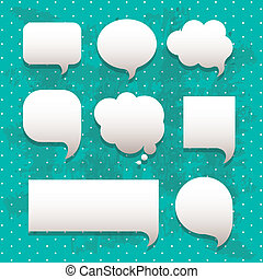 comics icons - comic icons over dotted background vector...