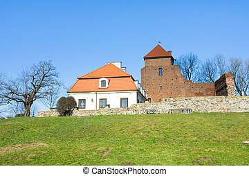 Medieval castle in Liw, Poland
