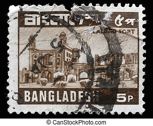 BANGLADESH - CIRCA 1978: A stamp printed in Bangladesh shows...