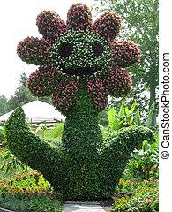 Blume in der Blume, ein schoenes Kunstwerk, Flower in the...