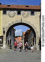 Chech Republic - Cesky Krumlov, Czechia, unidentified...