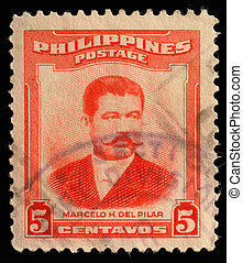 PHILIPPINES - CIRCA 1952: A stamp printed in Philippines...