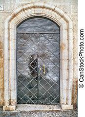 Door in Old City