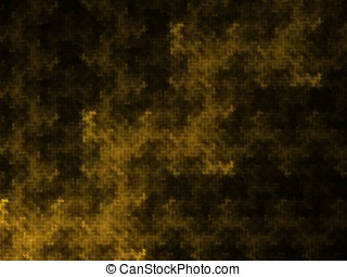 Blotted Textures Abstract - Blotted effect, golden textured...