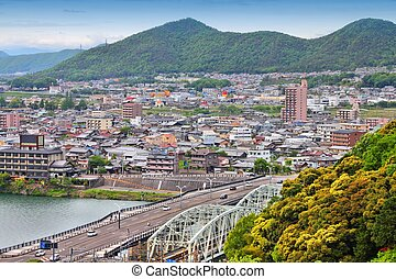 Japan - Kakamigahara, town in Gifu prefecture. Japanese...