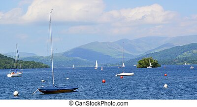 Lake Windermere - An image from Lake Windermere in the...