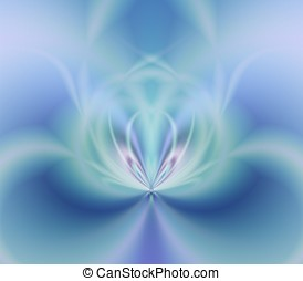 Soft Blues Abstract - Artistic Abstract Background - Blues...