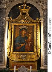 Church of  Santi Giovanni e Paolo interior, Venice