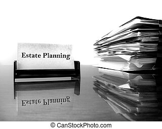 Estate Planning Business Card - Estate Planning business...
