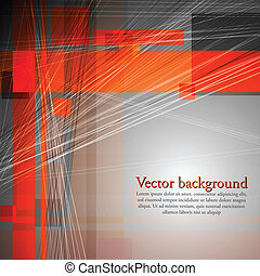 Abstract concept vector design - Concept technology...