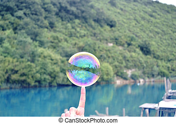 bubble - nature photo