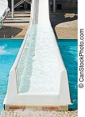 Water slide - Detail of a water slide