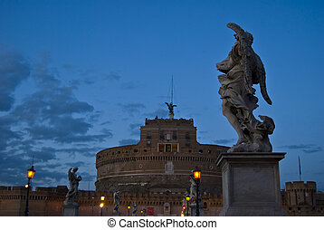 Castel Sant\\\'Angelo - famous and historic Castel...