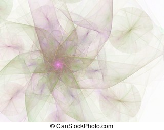 Capturing Essence, Light - Wispy flowing, pastel colored...