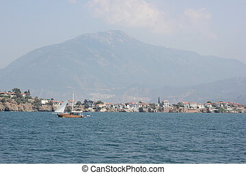 A view of Fethiye