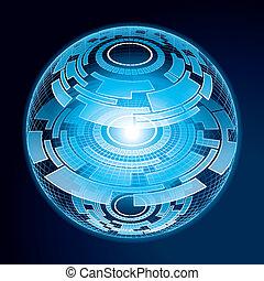 Fantasy Navigation Sphere