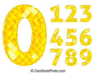 Diamond numbers