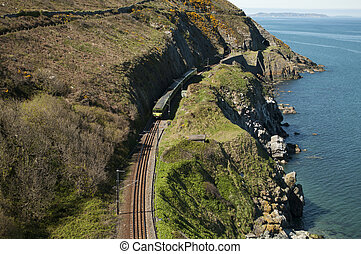 Cliffwalking Between Bray and Greystone, Ireland - The Cliff...