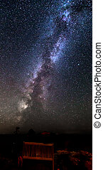 milky way - amazing milky way with 2 friends