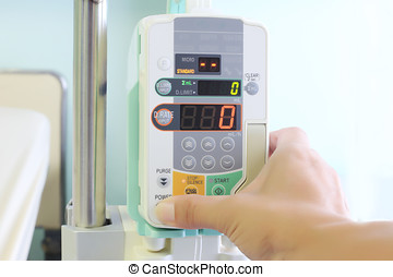 IV machine