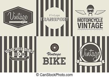 Transport emblems