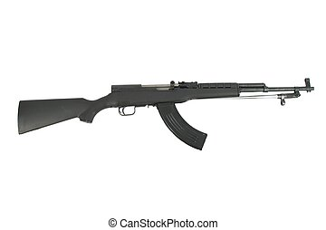Semi-Automatic SKS Assault Rifle - This is a semi-automatic...